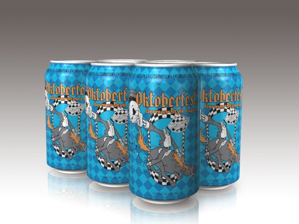 SKA Brewing, Oktoberfest German-Style Lager , 6 Pack Can