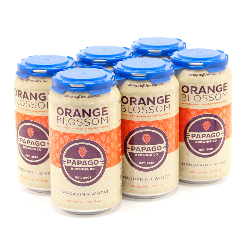 Papago Orange Blossom Wheat Ale, 6 pack Cane