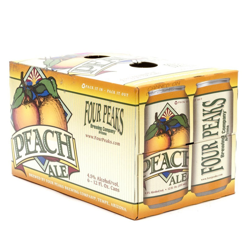 Four Peaks Brewing Co, Peach Ale, 6 pack 12oz Can