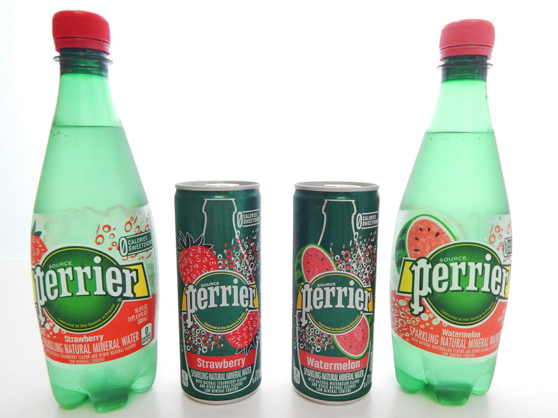 Perrier Carbonated Mineral Water, Strawberry