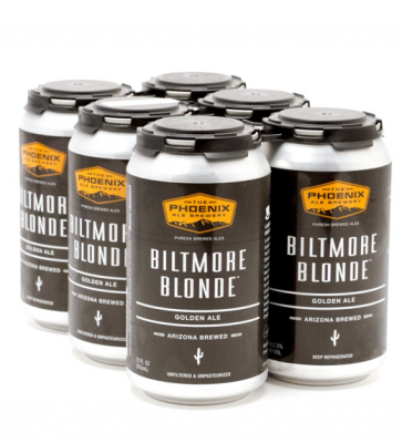 The Phoenix Ale Brewery, Biltmore Blonde Golden Ale, 6 Cans BRIANSDISCOUNTMARKET