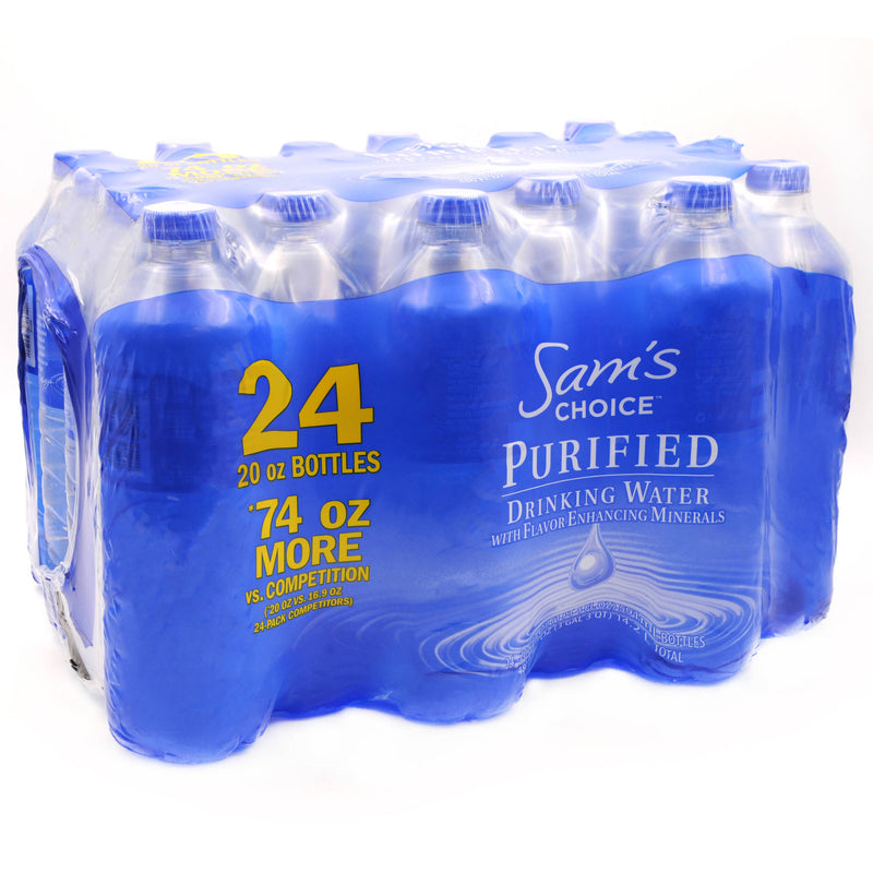 Sam'S Choice Purified Water, 24 bottles