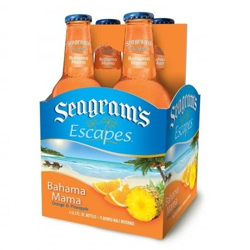 Seagram's Escapes, BAHAMA MAMA , 4-Pack briansdiscountmarket