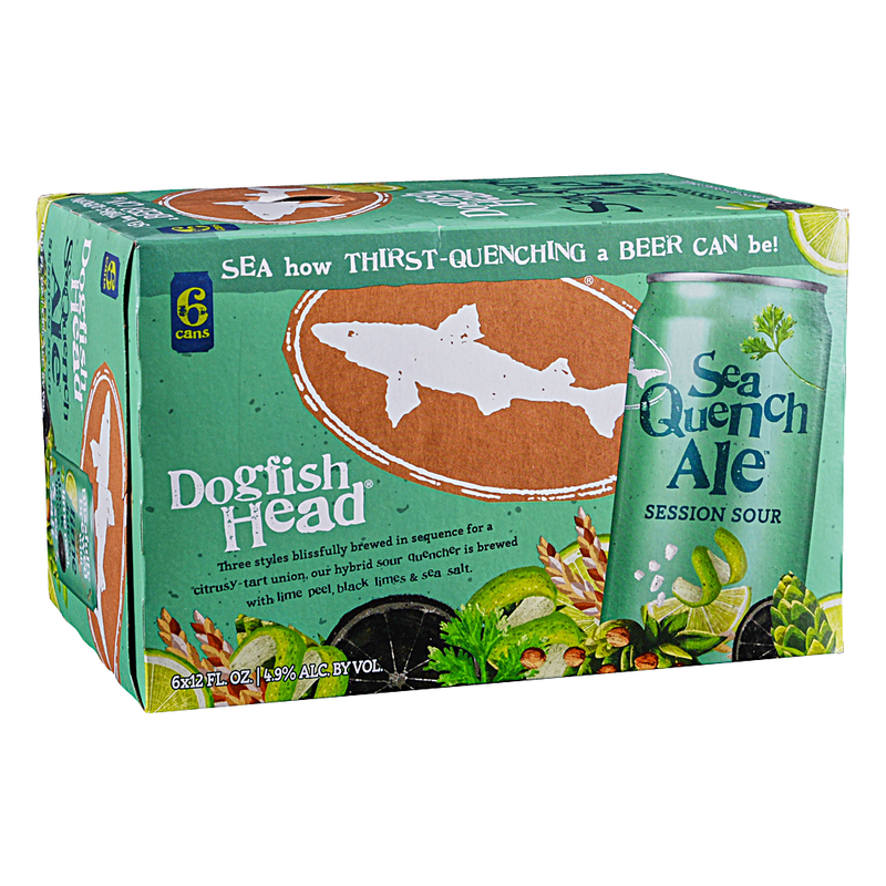 Dogfish  Head Brewery, SeaQuench Ale, 6 Pack Can