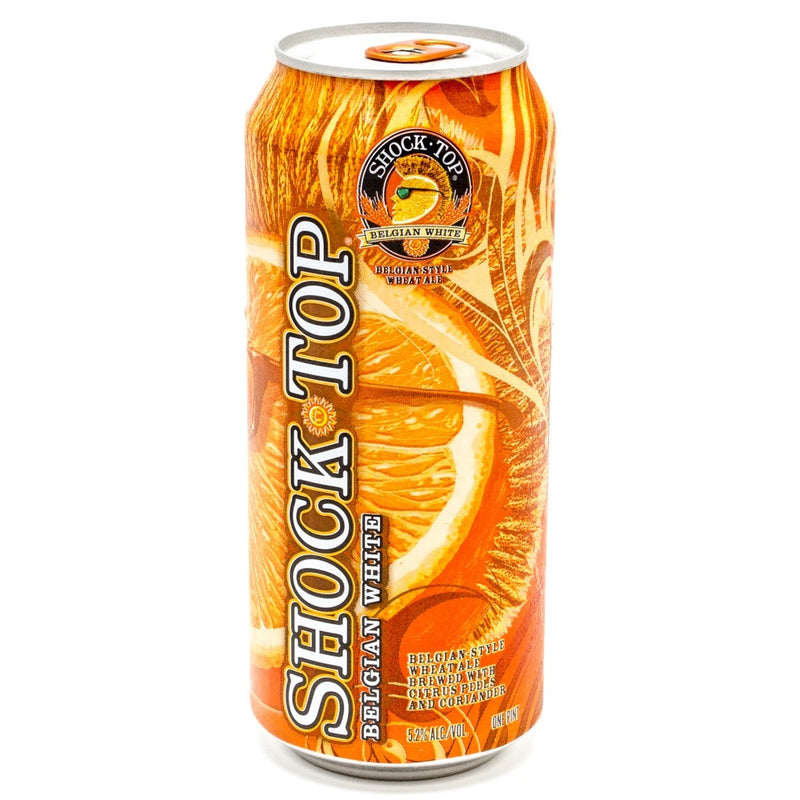 Shock Top Belgian White Wheat Beer, 16 fl oz Can