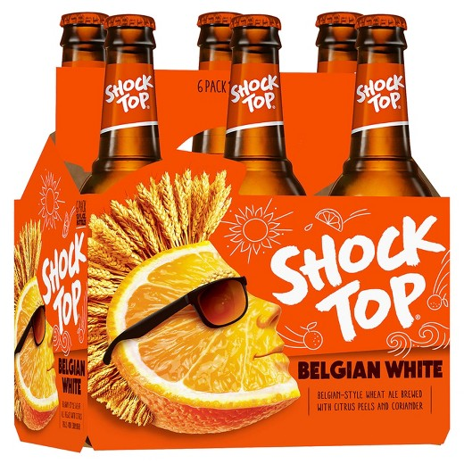 Shock Top® Belgian White, 6 Pack 12 oz Bottles
