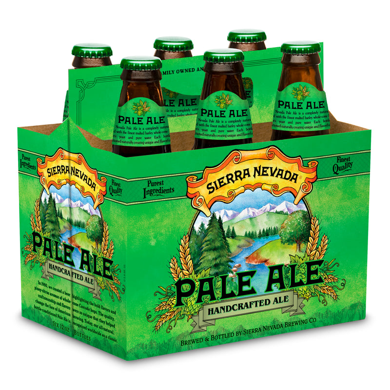 Sierra Nevada Pale Ale, 6 Pack, 12 oz Bottle