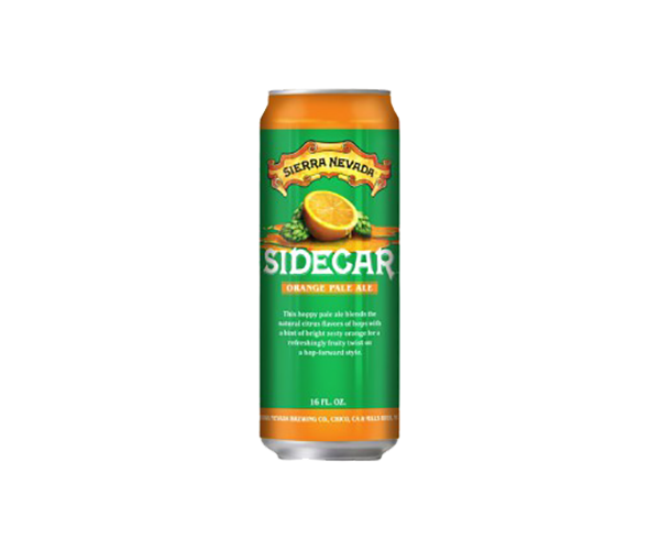 Sierra Nevada Sidecar Orange Pale Ale, 16 oz Can