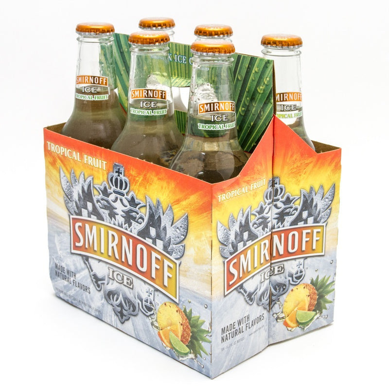 Smirnoff Ice Tropical Fruit, 6 Pack 12oz Bottle