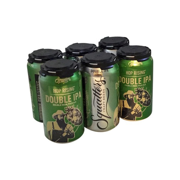 Squatters Hop Rising Double IPA, 6 Pack Can