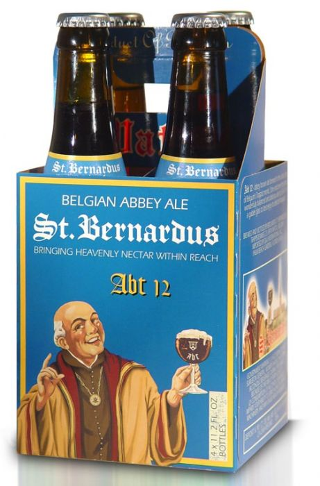 St Bernardus Abt 12, Abbey Ale, 4 Pack Bottle briansdiscountmarket