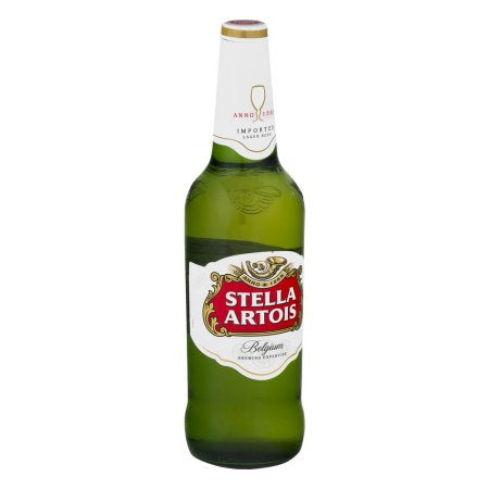 Stella Artois Beer, 22.4 fl oz Bottle