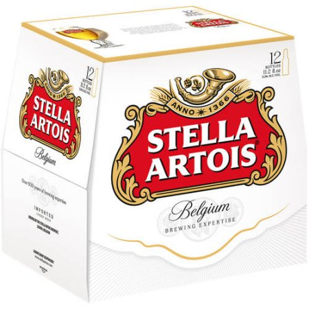 Stella Artois Beer, 12 pack, 11.2 fl oz Bottle
