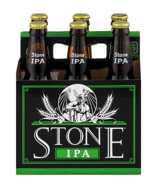 Stone IPA, 6 Pack Bottle