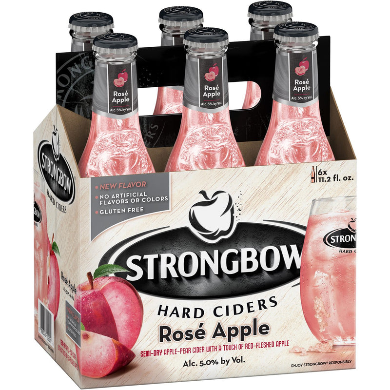 Strongbow Hard Ciders Rose Apple, 6 Pack briansdiscountmarket