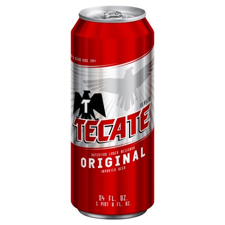 Tecate Beer, 24 oz Can