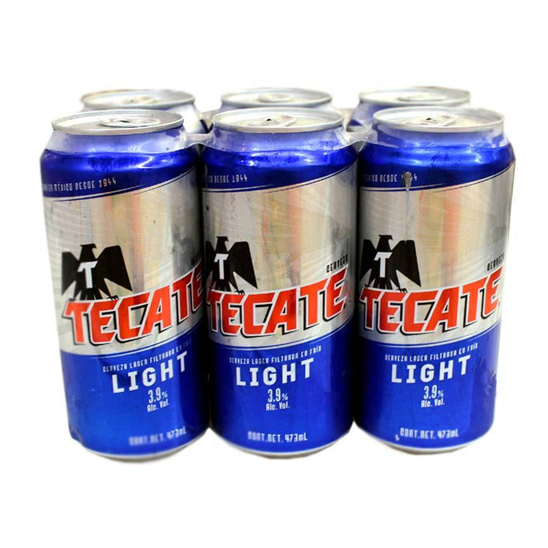 Tecate Light, 6 pack, 12 fl oz Can