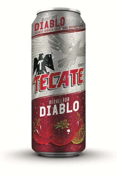 Tecate Michelada Diablo, 24 fl oz Can