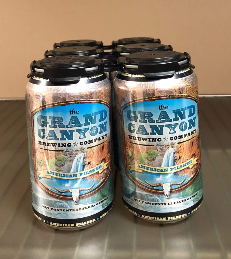 The Gran Canyon Brewing Co, American Pilsner, 6 Pack Can