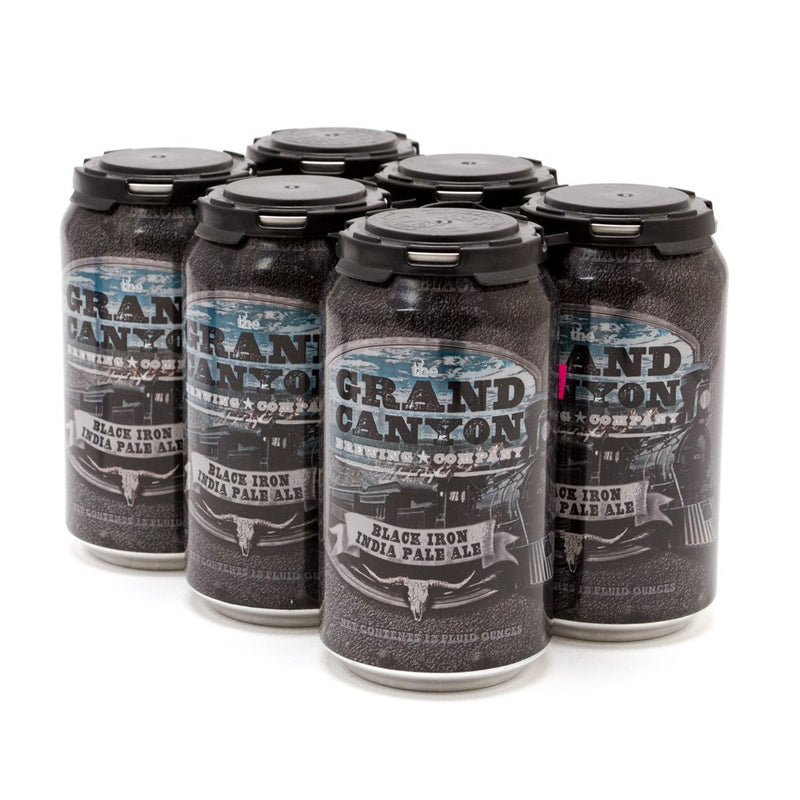 The Grand Canyon Brewing Co, Black Iron IPA, 6 Pack Can