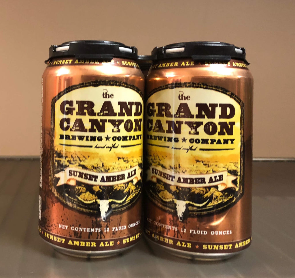The Grand Canyon Co, Sunset Amber Ale, 6 Pack Can