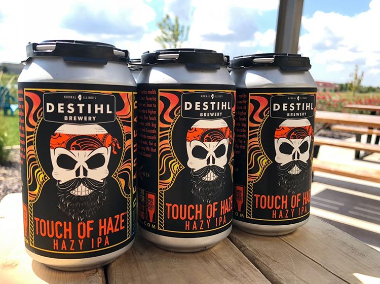 Destihl Brewery, Touch of Haze IPA, 6 Packs Cans.