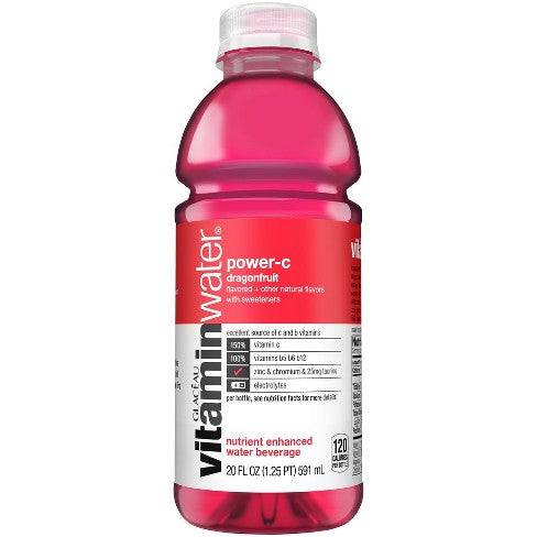 Vitamin Water Power-C Dragonfruit, 20 oz