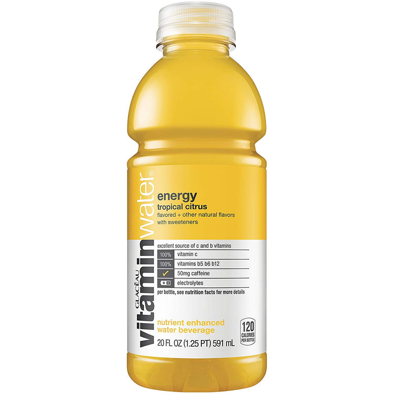 Vitamin  Water Energy, Tropical Citrus, 20 Fl Oz