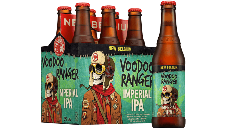 Voodoo Ranger Imperial IPA, 6 Pack Bottle