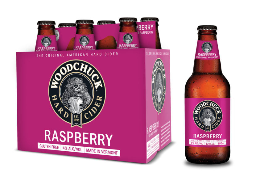 Woodchuck Hard Cider, Raspberry , 6 Pack Bottle briansdiscountmarket