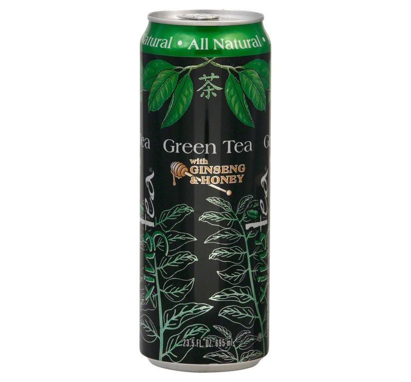 Xing Green Tea with Ginseng & Honey - 23.5 fl oz Can