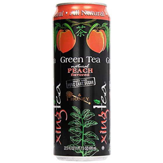 Xing Green Tea with Peach & Honey - 23.5 fl oz Can