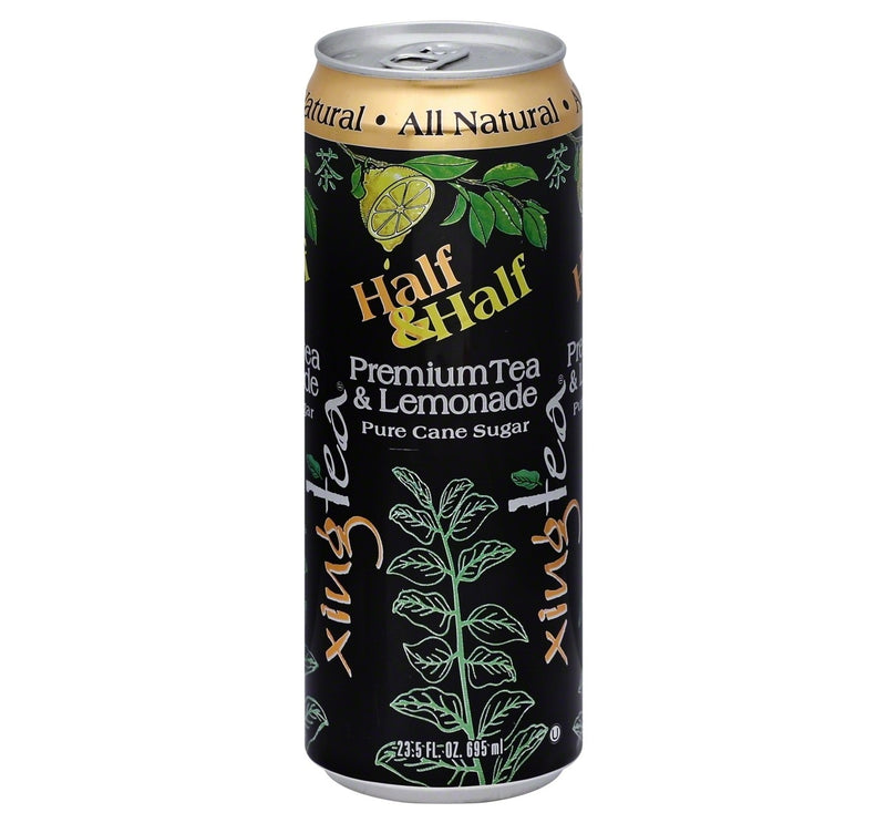 Xing Tea Half & Half Premium Tea and Lemonade - 23.5 fl oz Can