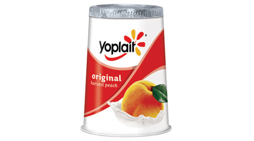 Yoplait Original Yogurt Harvest Peach, 6 oz Cup