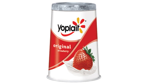 Yoplait Original Yogurt Strawberry , 6oz Cup