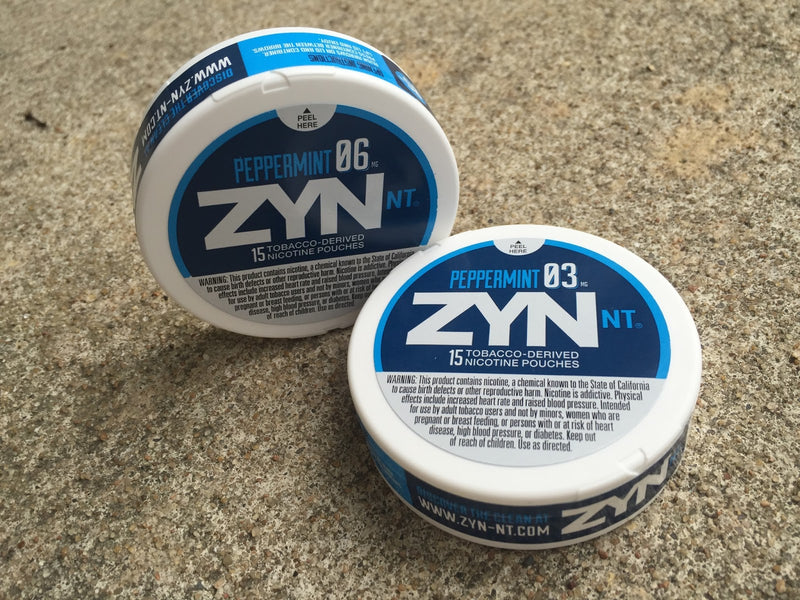 Zyn NT - Peppermint  (03 and 06) ea