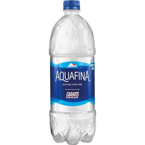Aquafina Purified Drinking Water - 33.8 fl oz bottle