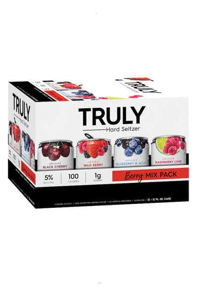 Truly Hard Seltzer Berry Mix Pack Spiked & Sparking Water briansdiscountmarket