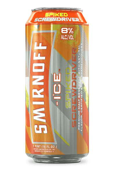Smirnoff Ice Spiked Screwdriver, 16oz Can