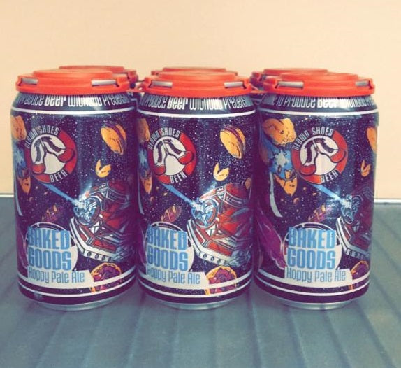 Clown Shoes Beer, Baked Goods Hoppy Pale Ale, 6 Pack Cans.