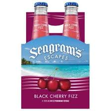 Seagram's Escapes, Black Cherry , 4-Pack briansdiscountmarket