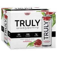 Truly Hard Seltzer Pomegranate Spiked & Sparking Water briansdiscountmarket
