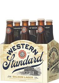 Western Standard Saloon Lager 6 pack briansdiscountmarket