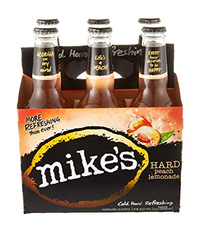 Mike's® Hard Peach Lemonade, 6 Pack 12oz Bottle briansdiscountmarket