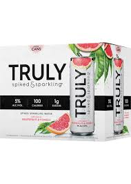 TRULY SPIKED & SPARKING GRAPEFRUIT & POMELO briansdiscountmarket