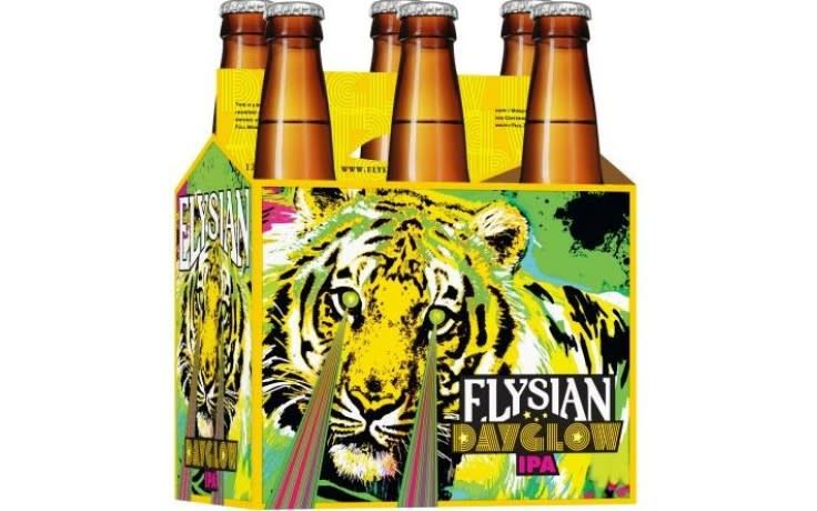 Elysian, Day Glow IPA, 6 Pack 12oz Bottle Brian'sdiscountmarket