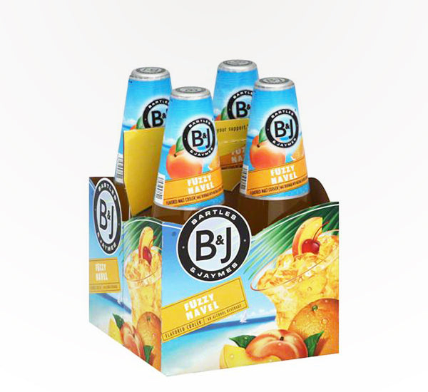 Bartles & James Fuzzy Navel Cocktail, 4 pack briansdiscountmarket