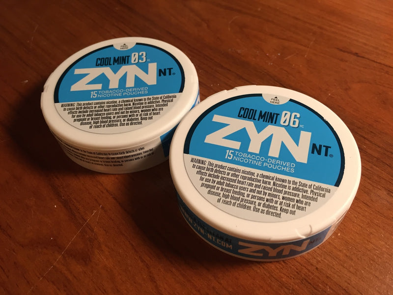 Zyn NT - Cool Mint  (03 and 06) ea