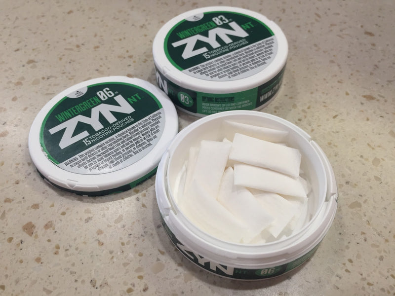 Zyn NT - Wintergreen  (03 and 06) ea
