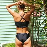 Women's Sports Bikini Black